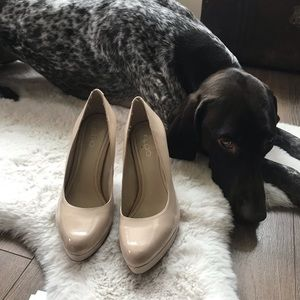 Aldo nude pumps. Basically brand new.
